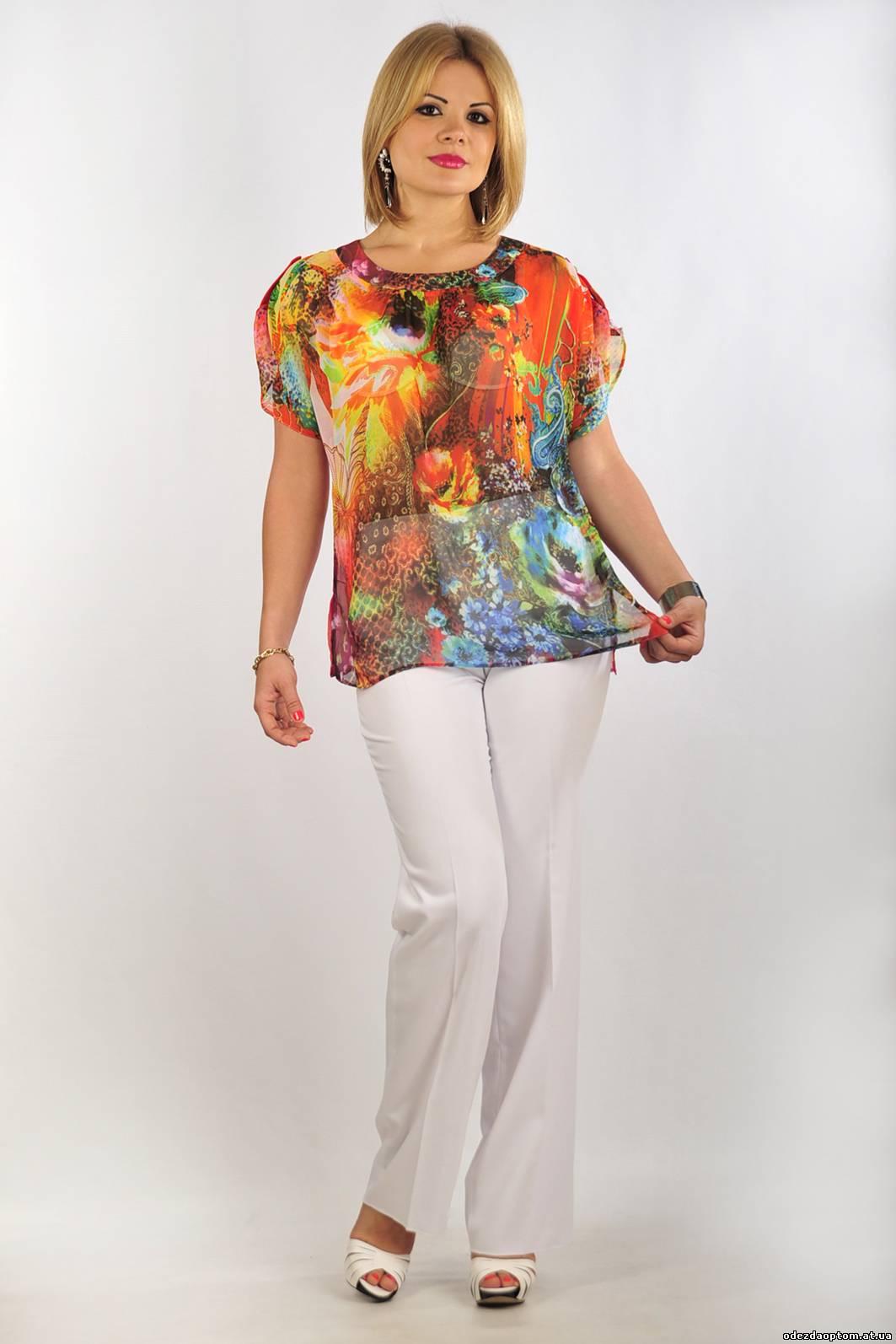 Блузки Для Полных Женщин 2015 С Доставкой